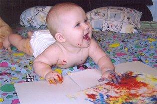 Младенцам тоже творить охота...