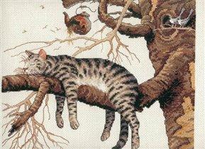Кот ленивый