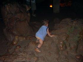 В пещере Дамлаташ