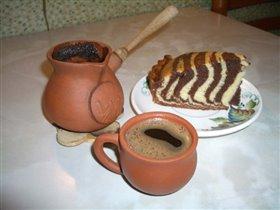 Чашечка любимого кофе - по-восточному