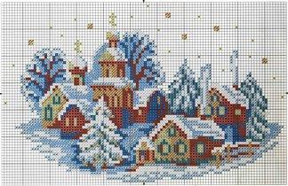 Зимний городок схема
