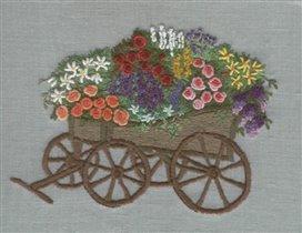 тележка с цветами (ярче)