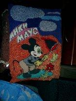Подушка с Микки-Маусом