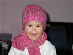 Шапка... шарфик... и улыбочку!!!