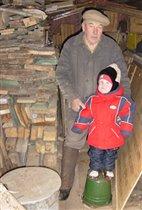 У деда в сарае