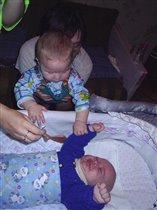 Брат с сестрой