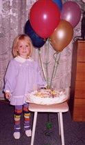 Ксене 3 года. С Днем рождения!
