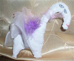Белая лошадёнка