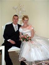 в комнате жениха и невесты