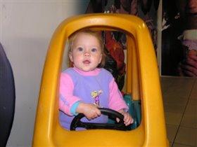 учусь водить