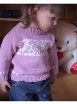 свитер 'снежинка'
