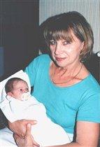 Бабушка с внучком