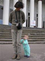 Папа, достань воробушка!