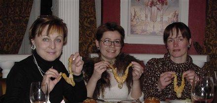 Три подружки - три лягушки