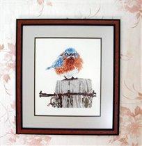 MAD BLUE BIRD, Bucilla
