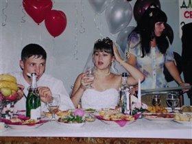 Взволнованная невеста