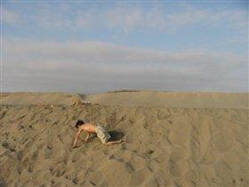 Алёша на пляже...1 января 2004