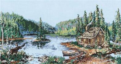 Candamar Trails end lake