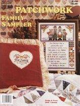 Patchwork family sampler