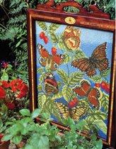 Butterfly firescreen