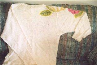 Первый свитер - вид сзади