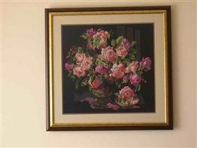 Классические розы(бусила)