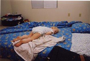 А это мы так спим,