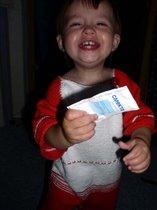 И отчего столько радости у ребенка!??!