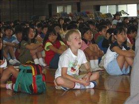 Первый раз в первый класс ...в Японии