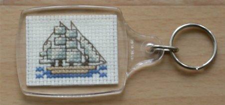 Брелок с корабликом