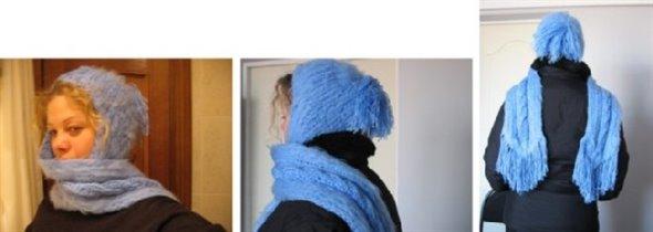 Шапочка-шарфик