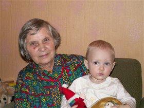 Моя бабушка и моя дочка