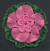 Салфетка с цветочком