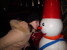 Поцелуй снеговика