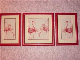 мои фламинго