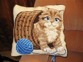 Подушка для моего зайчушки 'Кисюля-игруля'