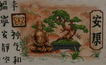 бонсай и будда.