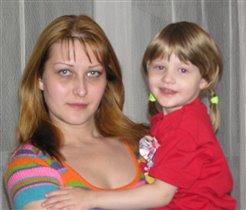 Ева с мамой