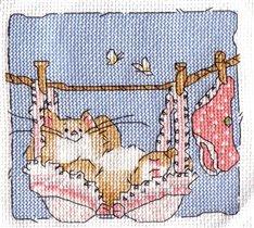 Котик в белье
