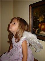 Рождественский ангел прилетел...