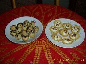 Орешки и корзиночки