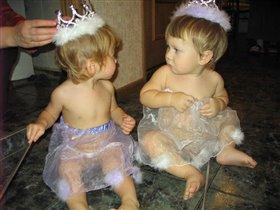 Принц и принцесса :)