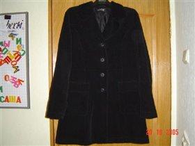 Пальто велветовое SASCH
