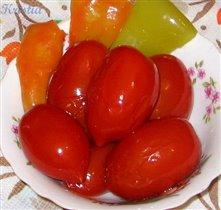 Помидорки в сладком маринаде (Janochka)