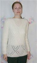 Мохеровый свитер, пряжа Royal Mohair Magic.