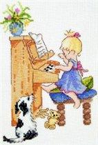 Клоя за пианино