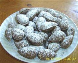 Мелкое печенье- миндаль