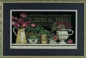 Fleurs de Paris  by Kathryn White