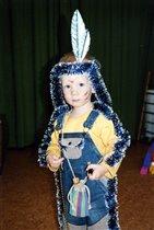 Мой первый новогодний костюм :)