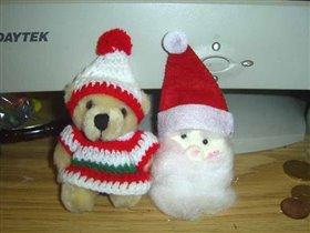 А это то, что мне прислали - Санта Клаус - pin doll